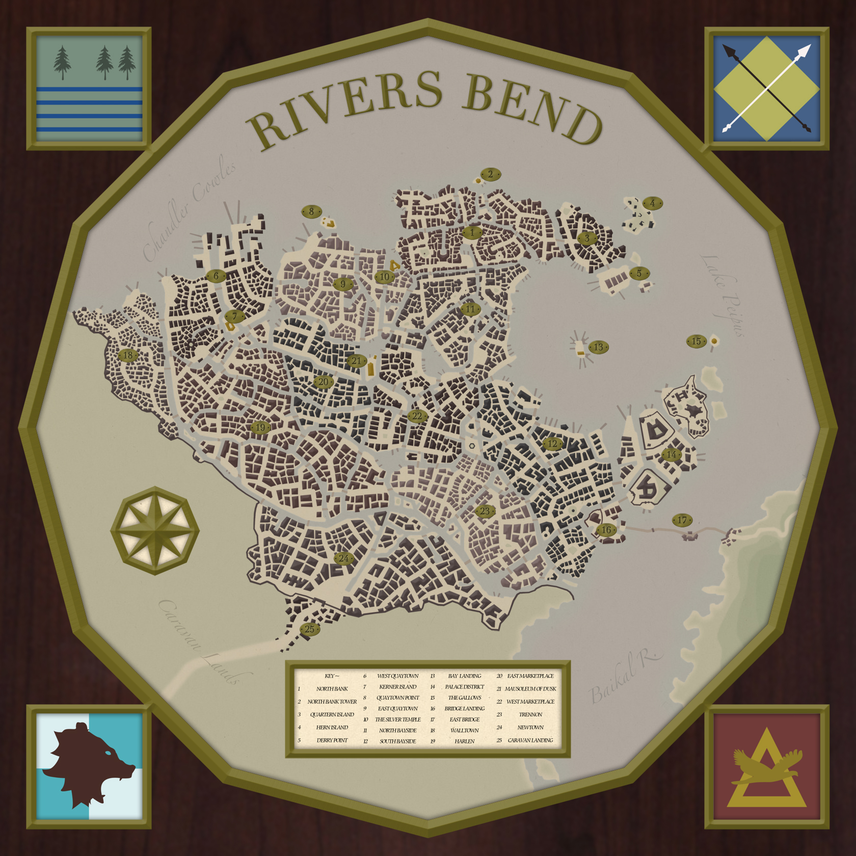 Rivers Bend - City Overview